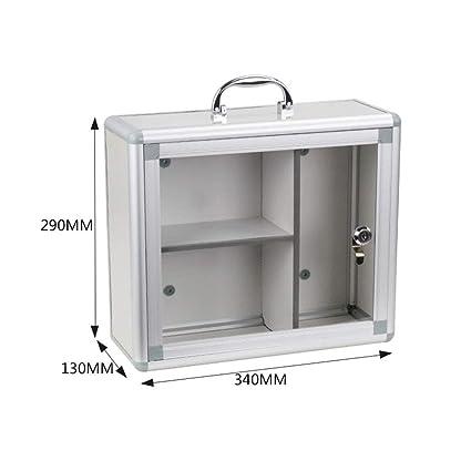big sale 63ea2 ab947 Amazon.com: Jinxin-jewelry box Wall Mounted Lockable ...