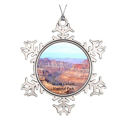 Grand Canyon National Park West Rim Landscape Ceramic Round