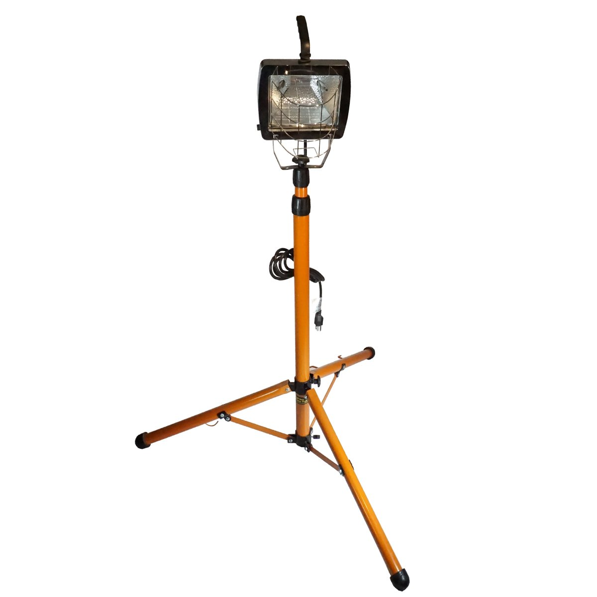 Bull Dog Products by Warner 4-8 ft 500 Watt Halogen Adjustable Work Light