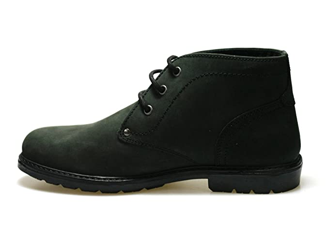 Red Tape Cregg Black Waxy Leather Men's Worker Style Boots: Amazon.co.uk:  Shoes & Bags
