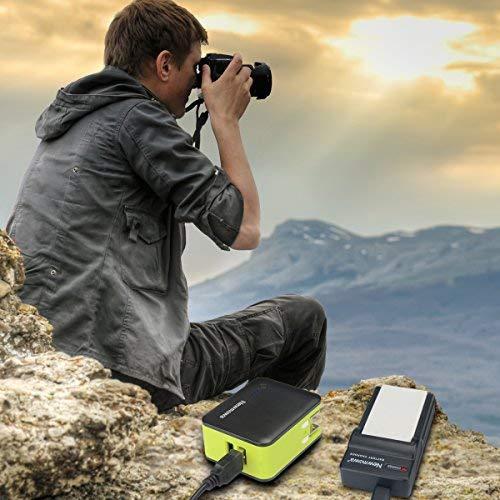 P5000 P100 P520 P6000 e Portable Micro USB Caricatore kit per NIKON EN-EL5 Coolpix P530 P510 P80 Newmowa EN-EL5 Batteria P5100 P500 confezione da 2 P90