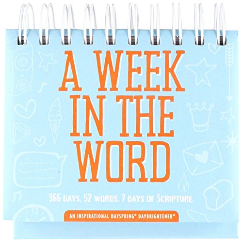 - Flip Calendar - A Week in the Word