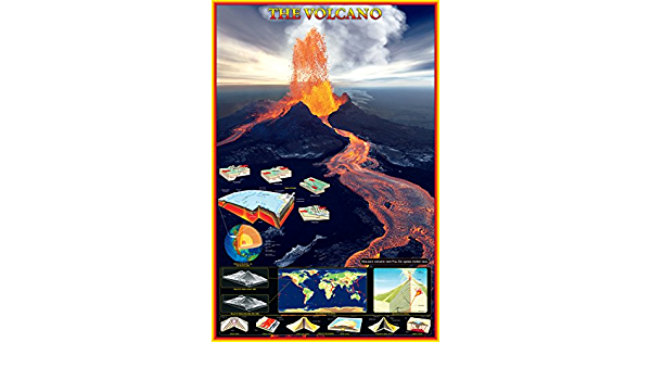 Eurographics 1751-64858 Lava Eruption Etna Stretched Canvas 24x36