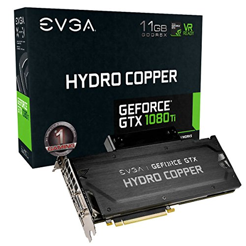 EVGA GeForce GTX 1080 Ti SC Hydro Copper Gaming، 11 GB GDDR5X، Waterblock Water Hydropper & LED، iCX Technology - کارت گرافیک 9 سنسور حرارتی 11G-P4-6399-KR