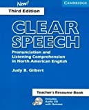 Clear Speech, Judy B. Gilbert, 052154355X
