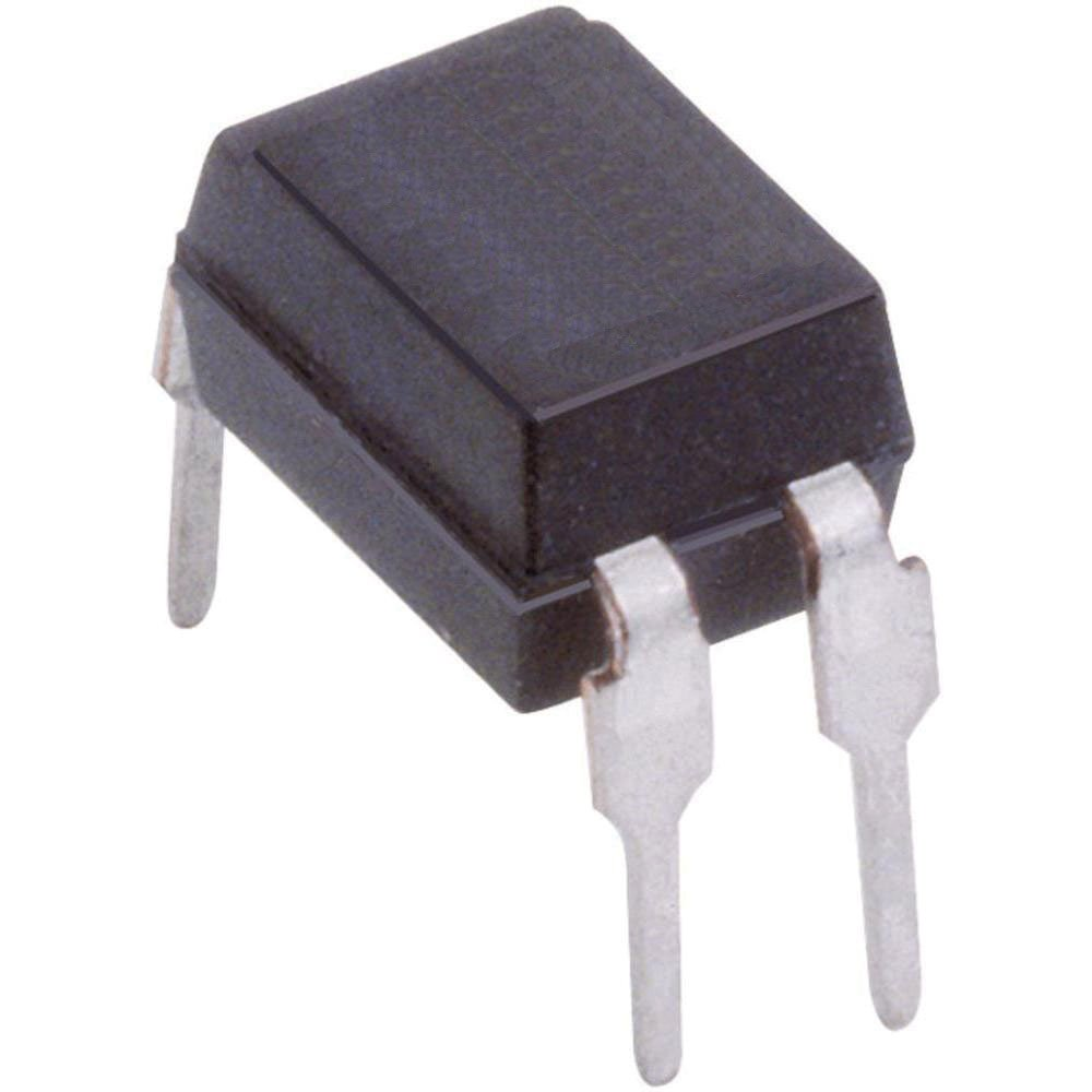 DIP-4 4 mm H X 7 mm W X 5.08 mm L Output Optoisolator Pack of 10 Major Brands PS2501-1 NPN Phototransistor