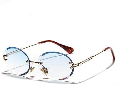 Amazon Com Gflotusas Gafas De Sol Ovaladas Para Mujer Gafas De Sol Transparentes Para Hombre Gafas De Sol Retro A La Moda A La Moda 80 Clothing