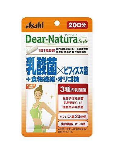디 아나운서《추라스타이루》 유산균×비피더스균+음식물 섬유・올리고당 20알(20일분)