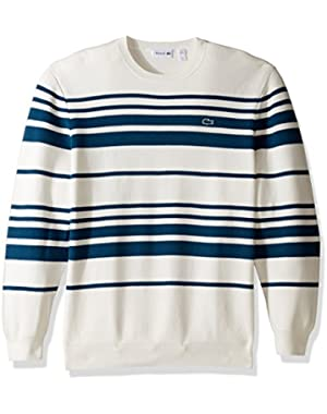 Men's Milano Stitch Stripe Sweater