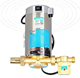 100W 220V 3000RPM gas electric hot heater Stainless Steel Water Pressure Booster Pump with automatic flow switch