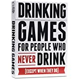 Drinking Games for People Who Never Drink [50 Drinking Game Cards]