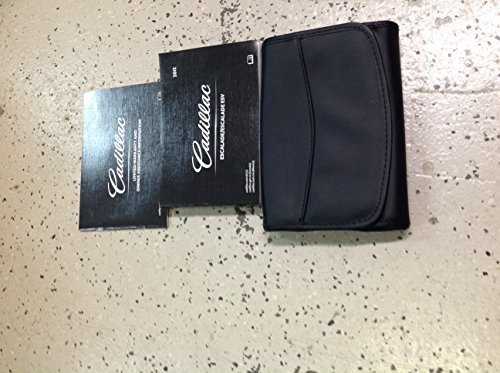 2012 Cadillac Escalade Owners Operators Owner Manual Set W Case GM OEM