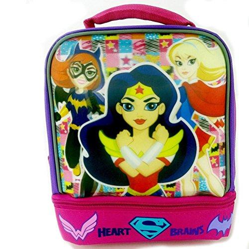 DC Comics Super Hero Girls Batgirl, Wonder Women and Supergirl Lunch Box