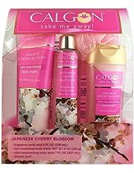Calgon Japanese Cherry Blossom 4 Piece Gift Set for Women