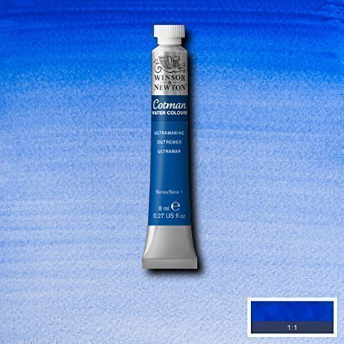 Winsor & Newton Cotman Watercolour Paint - 8ML Tubes - Ultramarine