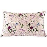 SLPBABY Silk Pillowcase for Hair and Skin with Hidden Zipper Print (Queen, Pattern1)