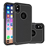 Best Berry Accessory(TM) iPhone 4 Cases - iPhone X Case,Berry (TM) [Drop Protection] Protective Case Review