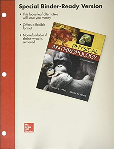 Looseleaf For Physical Anthropology