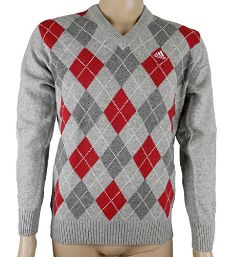 Adidas Adi Argyle PO Herren Pullover Strickpullover Grau Neu Gr.S/M
