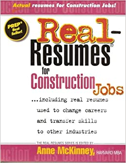 construction jobs resumes