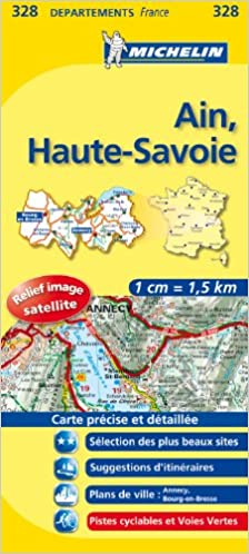 Ain Haute Savoie 11328 Carte Local France
