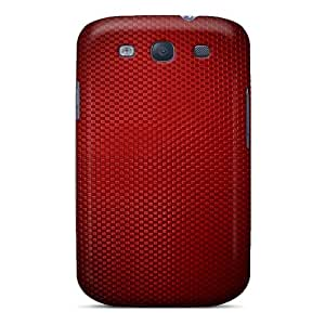 AMGake Scratch-free Phone Case For Galaxy S3- Retail Packaging - Red