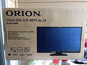 """Orion 24"""" Class LED-LCD 720p 60Hz HDTV, SLED2468W Ultra-Slim 2.28"""""""