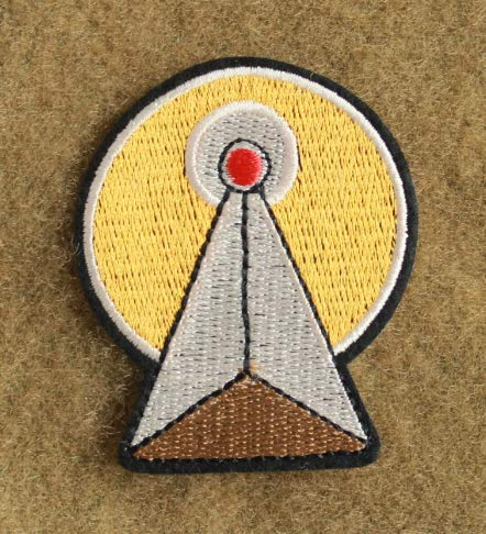 Star Trek Vulcan I.D.I.C. Symbol Military Patch Fabric Embroidered Badges Patch Tactical Stickers for Clothes with Hook & Loop]()