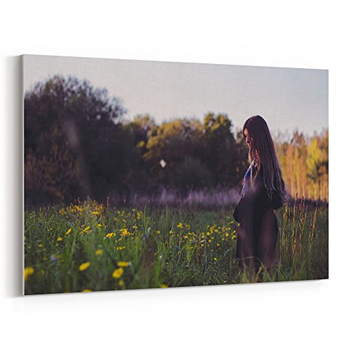 Westlake Art Canvas Print Wall Art - Nature Photograph on Canvas Stretched Gallery Wrap - Modern Picture Photography Artwork - Ready to Hang - (In The Night Halloween Lyrics)