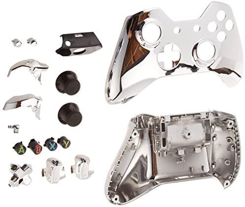 Game Bully Xbox One Controller Full Housing Shell - Chrome Silver ...
