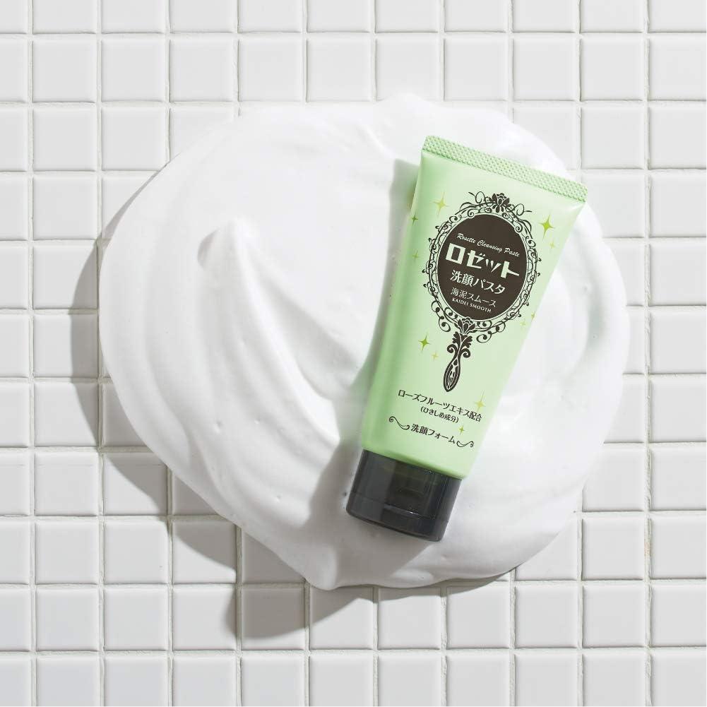 ロゼットの洗顔パスタの濃密泡