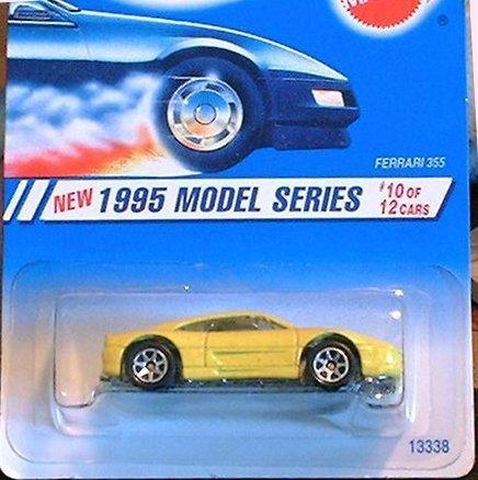 1995 -#10 Ferrari 355 Yellow #350 1:64 Scale Collectible Die Cast Car