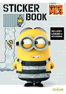 Despicable Me 3 Sticker Book