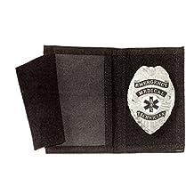Police Nylon Flip Out Badge Id Identification Case Holder Wallet