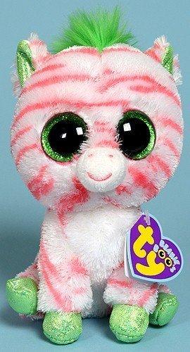 Amazon.com  Ty Beanie Boos Sapphire - Zebra (Justice Stores)  Toys ... 94a04e49a4b5