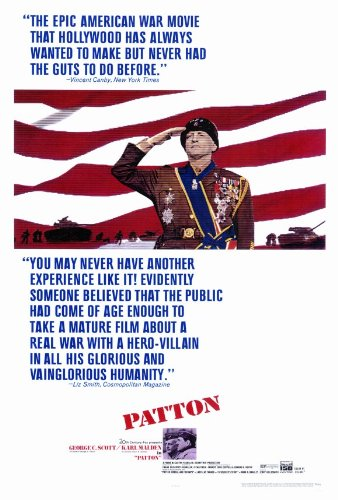 Patton 27 x 40 Movie Poster - Style A