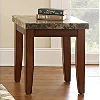 Greyson Living Martinique Marble Top End Table by