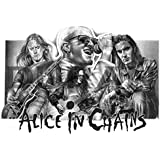 Alice in Chains Original Sketch Prints - Poster Size - Black & White - Features Jerry Cantrell, Layne Staley, Sean Kinney and Mike Inez. Print of Highly-Detailed, Handmade Drawing By Artist Mike Duran