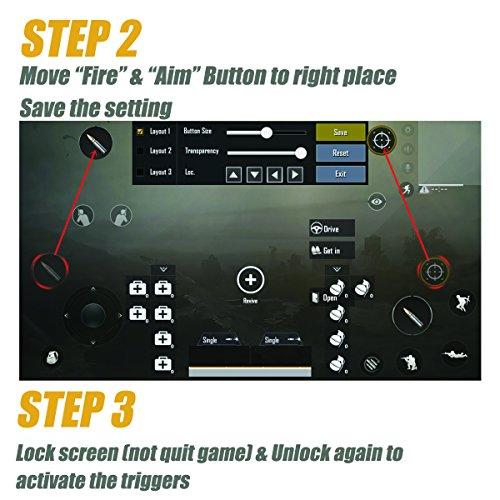 Pubg Mobile Game Controllertriggersjoystick Fortnite L1