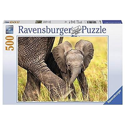 Ravensburger Cucciolo Di Elefante Puzzle 500 Pezzi