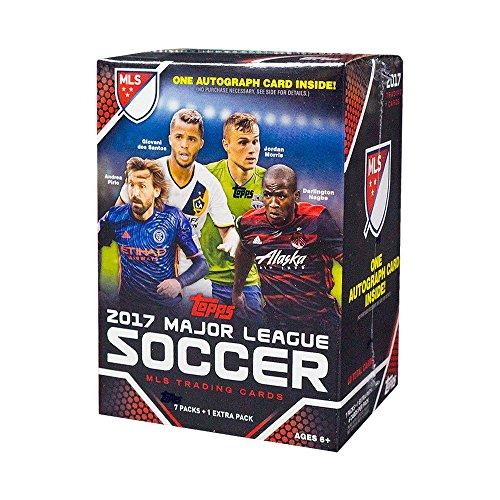 2017 Topps MLS Soccer 8ct Blaster Box