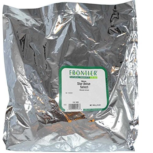 Frontier Bulk Star Anise 1 lb. package - 3PC by Frontier