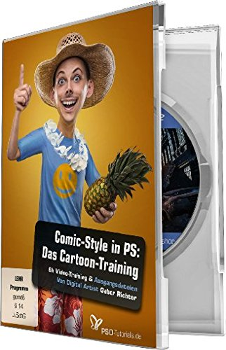 Comic-Style: Das Cartoon-Training für Photoshop (Win+Mac)