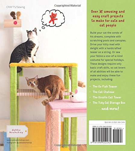 Cattastic Crafts Diy Project For Cats And Cat People Mariko