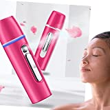 Cheap Cool Mist Facial Streamer Mini Handheld,Nano Mister Sprayer Rechargeable for Face Moisturizing 25ML,Beauty Skin Care Tool with Power Bank