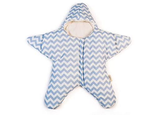 Saco de dormir Baby Starfish - Suave Saco de dormir para recién nacido Manta de abrigo