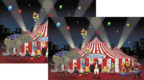 Drops Fun - Fun Express Carnival Backdrop Banner (2-Pack)