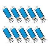 KEXIN 10 Pack 16GB Flash Drive USB Stick 16 GB Key Drives Memory