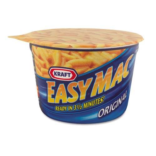 Kraft Easy Mac Macaroni & Cheese Dinner Microwavable 2.05 OZ (Pack of 20)