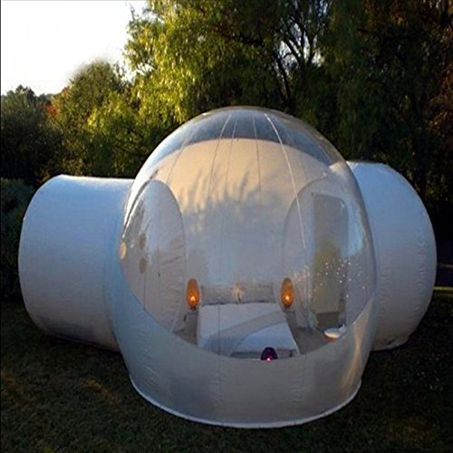 Inflatable Bubble Tent House,Family Camping Backyard Transparent Air Dome...